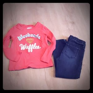 OshKosh B'gosh Girls Clothing Set